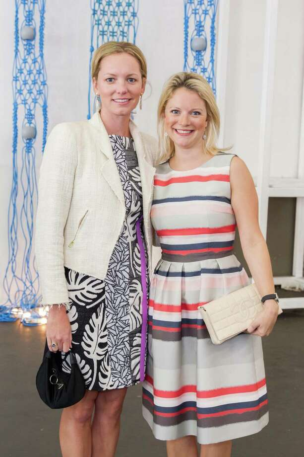 Julie Fenton and Victoria Richardson at the Art Market San Francisco Benefit Preview Reception on April 29, 2015. Photo: Drew Altizer Photography / DREW ALTIZER PHOTOGRAPHY