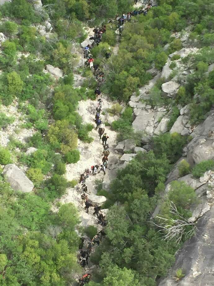 U.S. Border Patrol agents arrested 73 immigrants last week for allegedly illegally crossing into the United States near Del Rio.