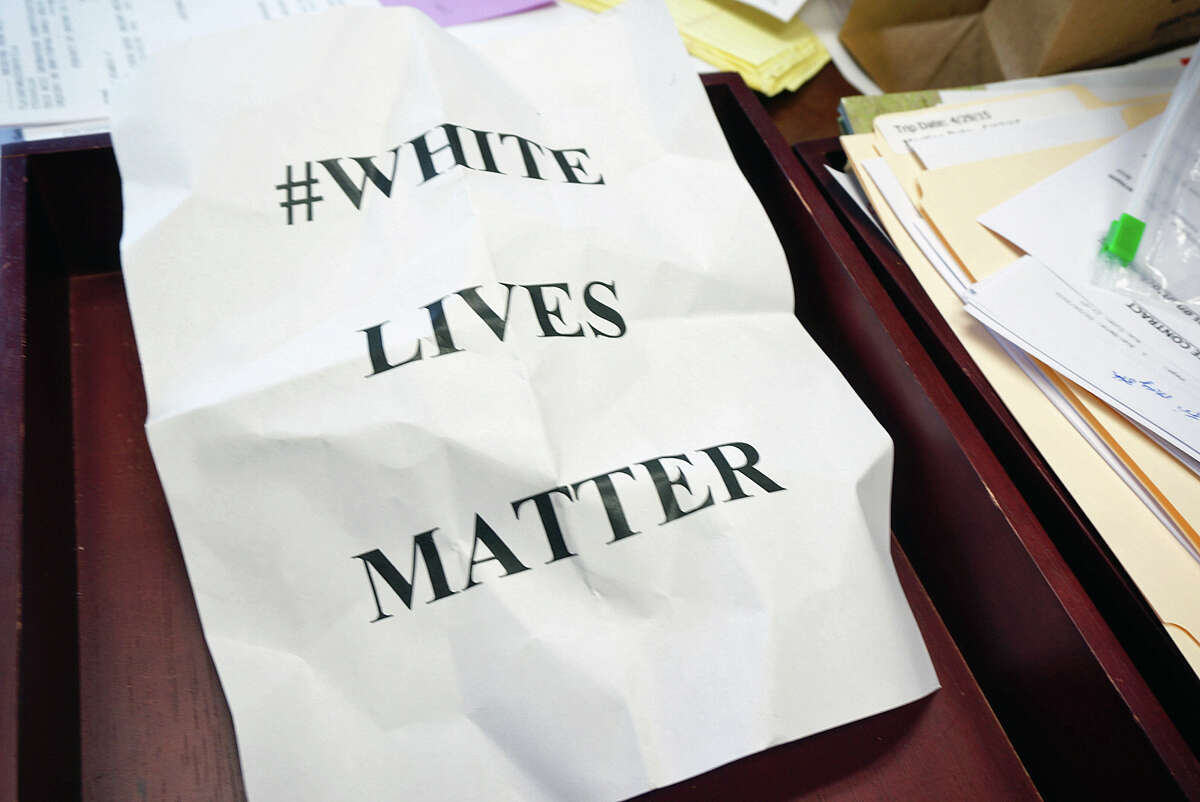 """4-19-17 White Supremacist Event Anti-Defamation League Description:Members of the Aryan Renaissance Society and """"White Lives Matter"""" Texas joined a protest of the Houston Socialist Movement."""