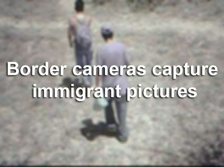 Photos captured by motion-activated cameras posted along the Texas-Mexico border. Courtesy of the Texas Department of Public Safety. Photo: Texas Department Of Public Safety