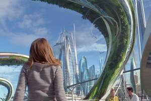 'Tomorrowland' — a slow start, but the future is bright - Photo