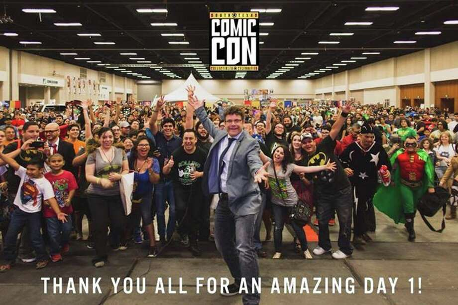 Tens of thousands of people attended the second annual South Texas Comic Con convention last weekend at the McAllen Convention Center. Photo: Facebook/Twitter