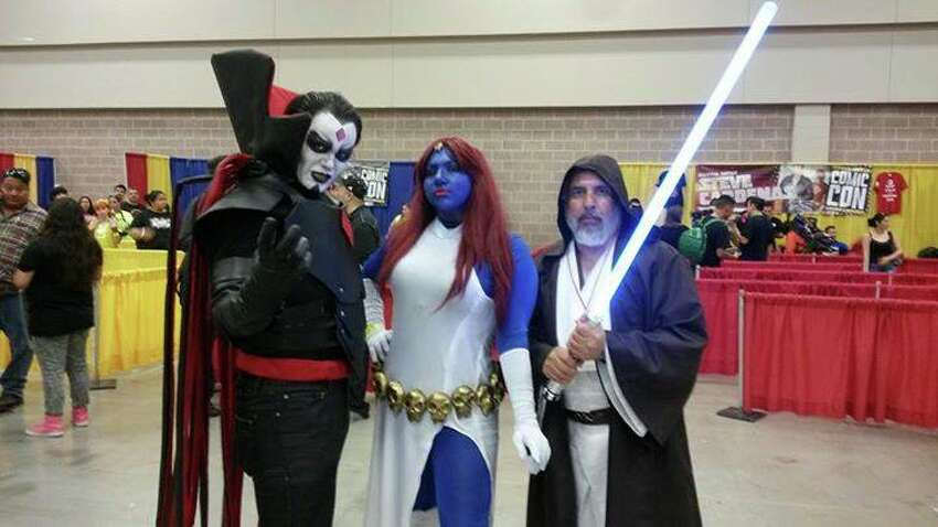 Tens of thousands of people attended the second annual South Texas Comic Con convention last weekend at the McAllen Convention Center.