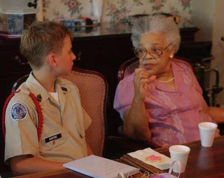 , 92, as San Antonio Academy students team up with senior citizens ...