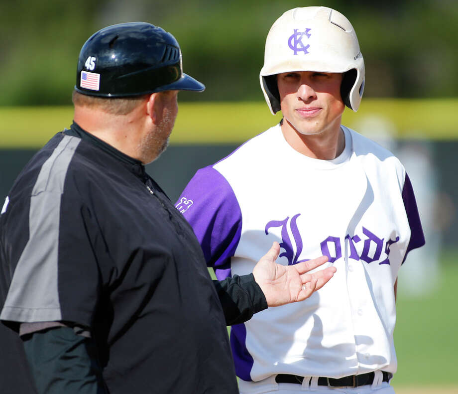Jake Dunn of Fairfield just completed a stellar career at Division II Kenyon College. Dunn  finished as the Lords all-time leader in hits, runs scored, at-bats, doubles and total bases. Photo: Fairfield Citizen/Contributed / Fairfield Citizen