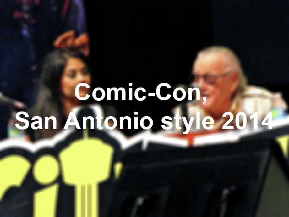San Antonians had their fill this summer with Texas Comic-Con, San Japan, Wizard World, Alamo City Comic-Con and Fantom Fest. Photo: Edmond Ortiz / S.A. Express-News, San Antonio Express-News