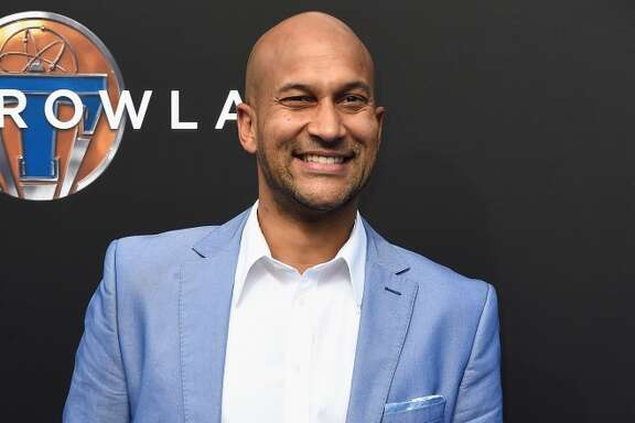 "ANAHEIM, CA - MAY 09:  Actor Keegan-Michael Key (right) , attends the Premiere Of Disney's ""Tomorrowland"" at AMC Downtown Disney 12 Theater on May 9, 2015 in Anaheim, California.  (Photo by Frazer Harrison/Getty Images)"
