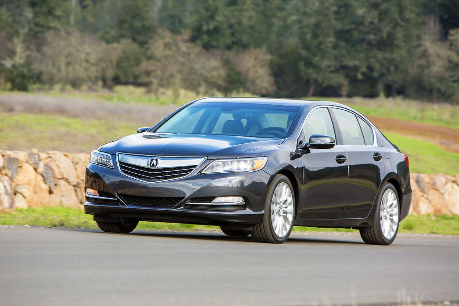 Acura RLX Tech MSRP: $54,450 | This car provides a jumpy and unsettled ride, lack of handling agility and controls that are overly complicated, according to Consumer Reports. Photo: Acura / © 2014 American Honda Motor Co., Inc.
