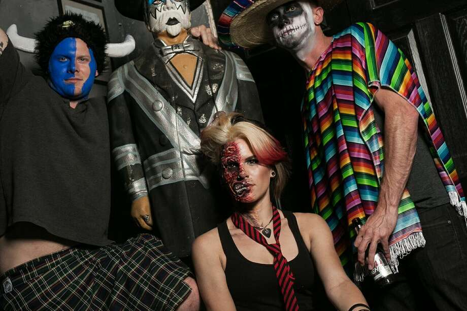 The Dirt's 10th annual Halfway to Halloween, May 9, 2015. Photo: Abdul Khan / For The Houston Chronicle