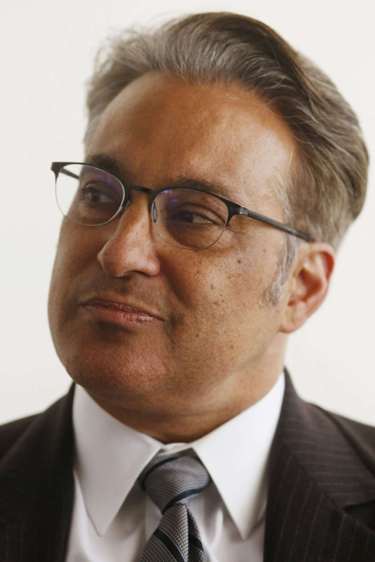 San Francisco City and County Sheriff Ross Mirkarimi talks about new sewing class at the county jail on Monday May 11, 2015 in San Francisco, Calif. Sheriff Mirkarimi said he hopes classes like this will help bring a positive brand to San Francisco.