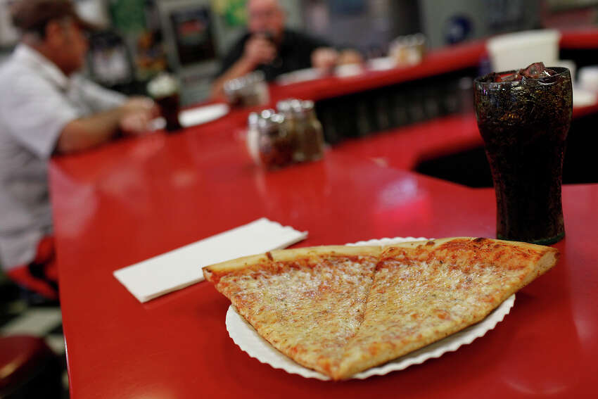 A slice or two of Florio's Pizza The city's best New York-style pizza makes a quick and brag-worthy lunch. Snag the lunch special, two pieces of cheese pizza and a drink for $5. 7701 Broadway St.; (210) 805-8646; Facebook: Florio's Pizza.