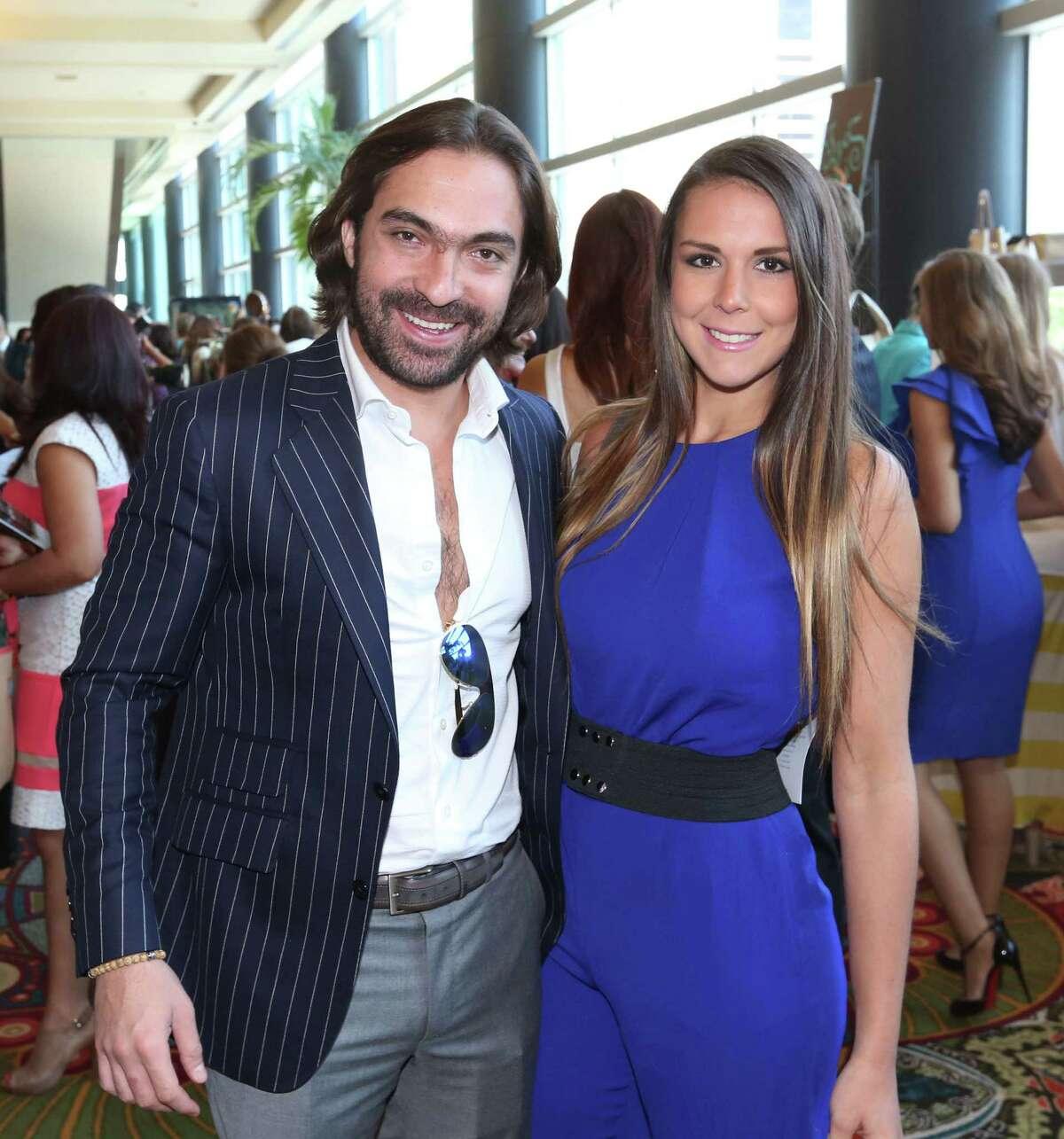 Luis Felipe and Michelle Morlet