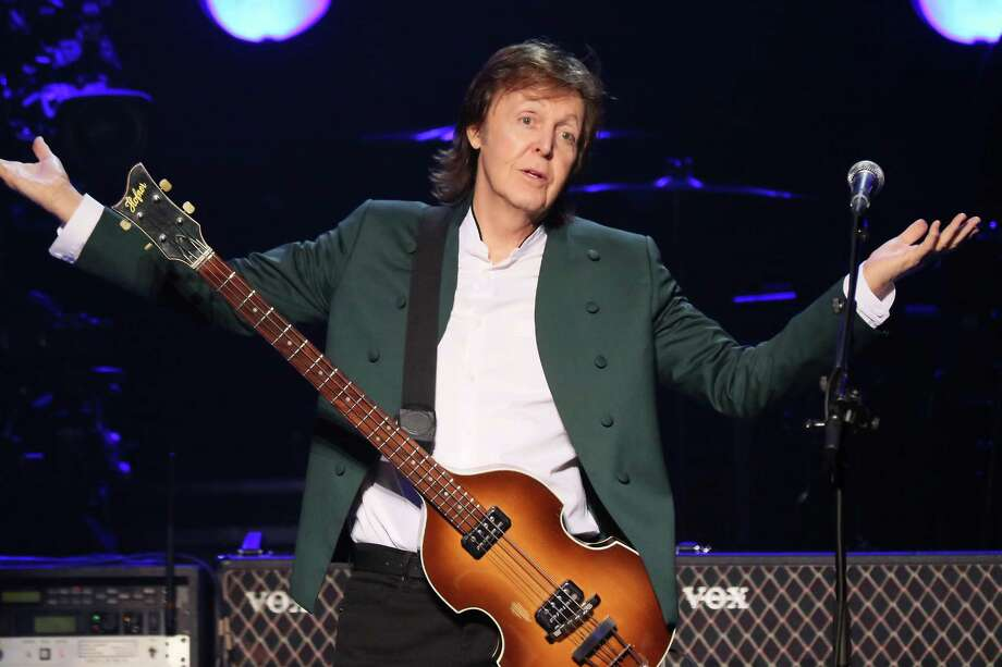 "The former member of British rock band The Beatles, Paul McCartney says he has given up smoking marijuana after many years of indulgence, according to an interview published Saturday May 30, 2015, in Britain's Daily Mirror newspaper, ""the last time I smoked was a long time ago."" said McCartney who declares he now prefers wine or ""a nice margarita."" Photo: Ken Ishii, Stringer / 2015 Getty Images"