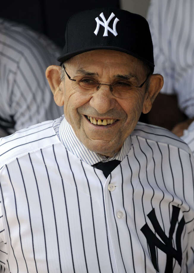 Yogi Berra. (Associated Press)