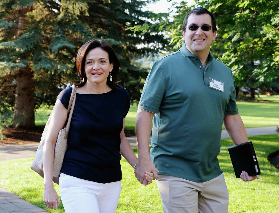 Dave Goldberg, husband of Sheryl Sandberg And Silicon Valley  Entrepreneur Has Died Suddenly Aged 47 SUN VALLEY, ID - JULY 10:  Sheryl Sandberg, COO of Facebook, and her husband David Goldberg arrive for morning session of the Allen & Co. annual conference at the Sun Valley Resort on July 10, 2013 in Sun Valley, Idaho. The resort is hosting corporate leaders for the 31st annual Allen & Co. media and technology conference where some of the wealthiest and most powerful executives in media, finance, politics and tech gather for weeklong meetings. Past attendees included Warren Buffett, Bill Gates and Mark Zuckerberg. Photo: Kevork Djansezian, Staff / 2013 Getty Images