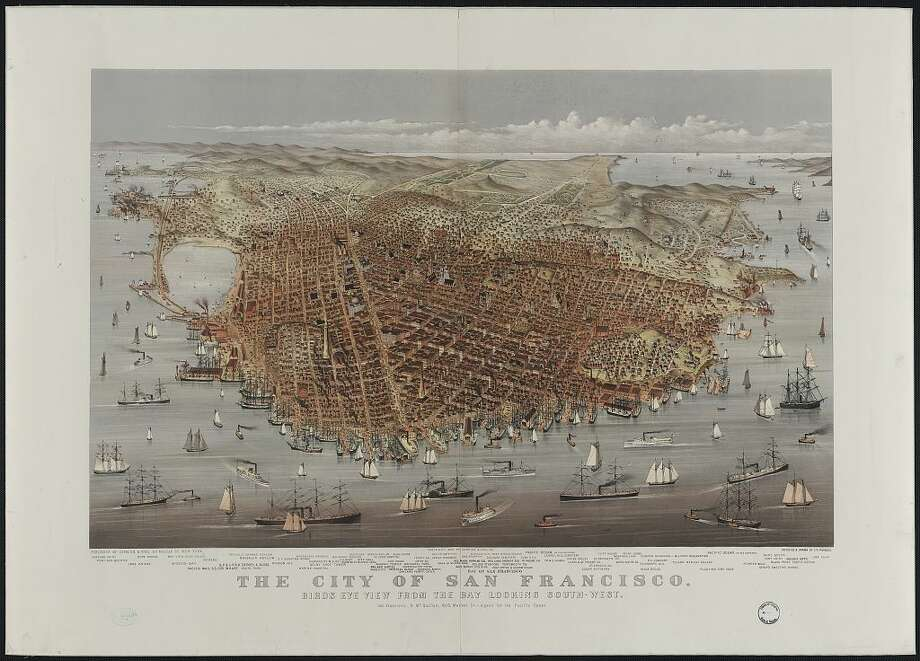 Historic maps give a glimpse of the old Bay Area - SFGate