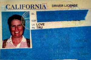 Tru Love provided her driver's license to prove her identity to Facebook.