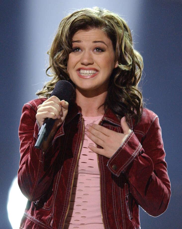"Kelly Clarkson, Season 1 winner. ""Thankful"" album released 2003. Photo: LUCY NICHOLSON, AP / AP"