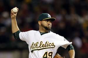 Edward Mujica will close games for Oakland A's - Photo