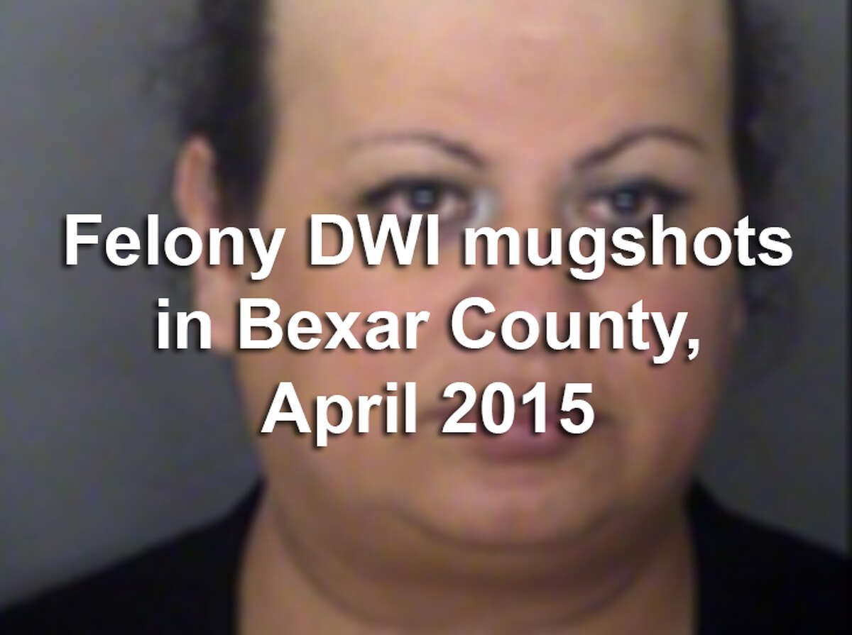 Law enforcement officers arrested 84 people during April on felony drunken driving charges, according to the Bexar County District Attorney's Office. Scroll through the gallery above to see booking photos for each of the 84 defendants arrested in March. A mugshot is not proof of guilt.