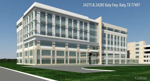 The Katy Ranch project, a six-story, 151,000-square-foot office building situated along the Katy Freeway Photo: Katy Area EDC