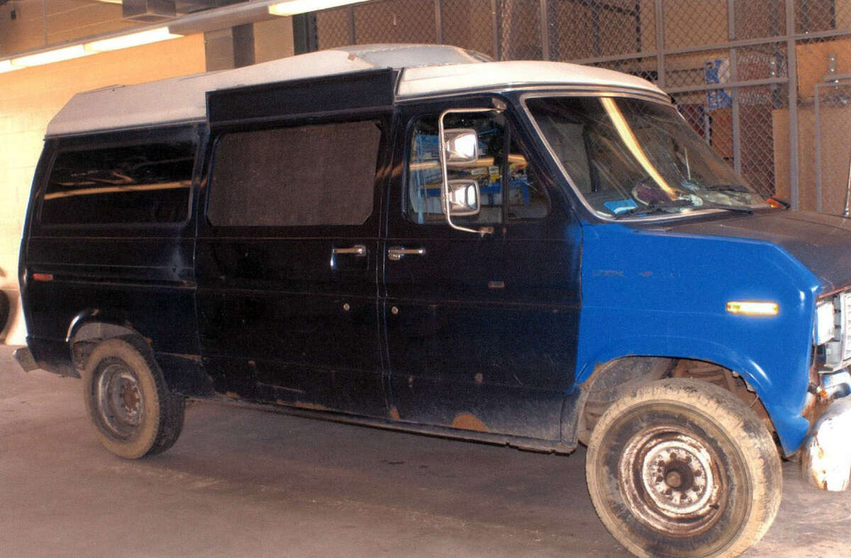 Howell's van. Photo from the State of Connecticut's Criminal Justice Cold Case website.
