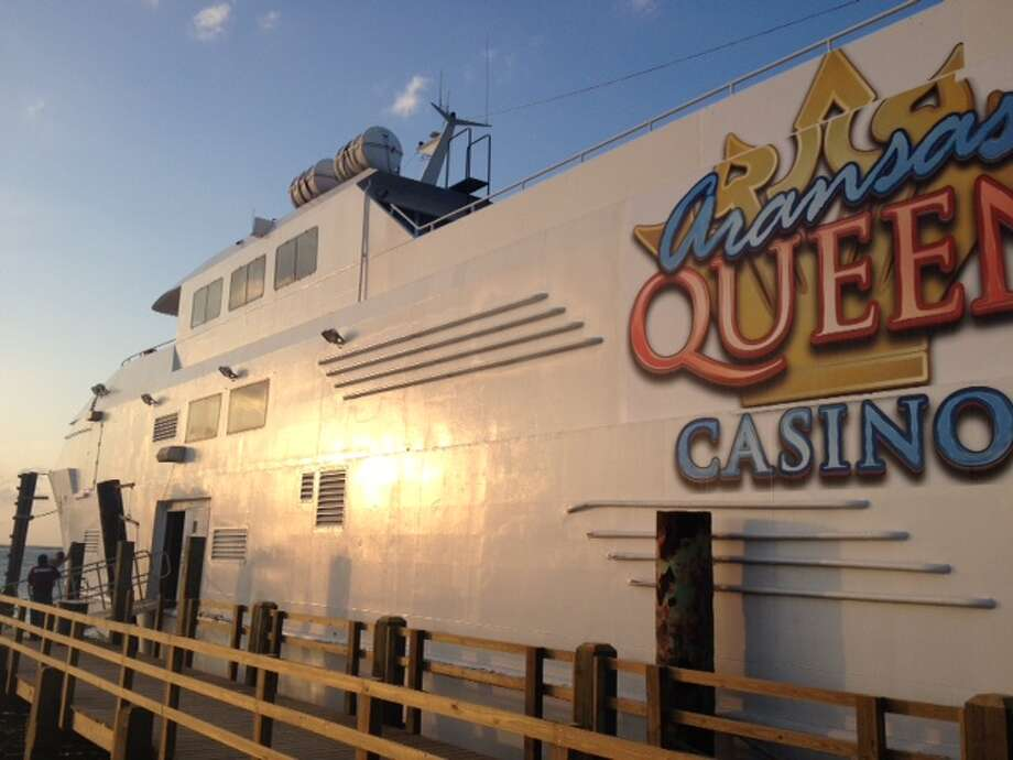Texan gamblers now have an alternative option to game that doesn't involve a trip to Eagle Pass or out of state – it's located less than three hours away in Port Aransas, Texas. Photo: Provided By Aransas Queen