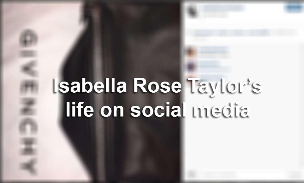 Keep clicking to see Austin fashion designer Isabella Rose Taylor's chic postings on social media.