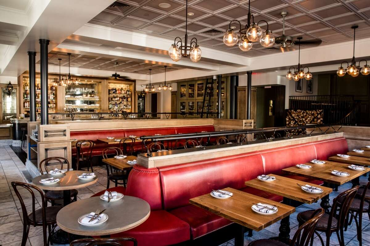 Inside Belga, opening this week on Union Street in the former Cafe Des Amis space.
