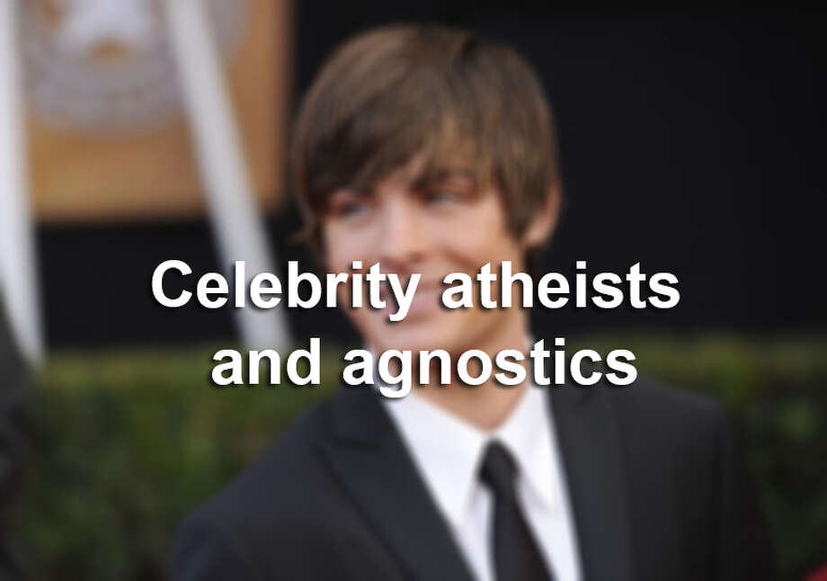 These celebrities identify as irreligious.