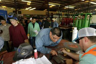 Welding academy builds new lives along with a skilled