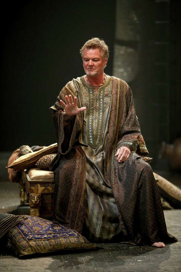 "Geraint Wyn Davies stars as Antony in the production of ""Antony and Cleopatra"" that is being transmitted to U.S. movie theaters as part of the Stratford Festival HD series from Canada. Photo: Contributed Photo / Connecticut Post Contributed"