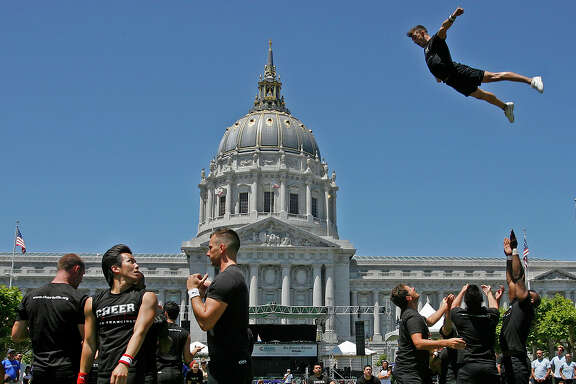 Supervisor Scott Wiener has introduced a resolution to declare Cheer SF the city's official cheer squad. The troupe is celebrating its 35th anniversary.