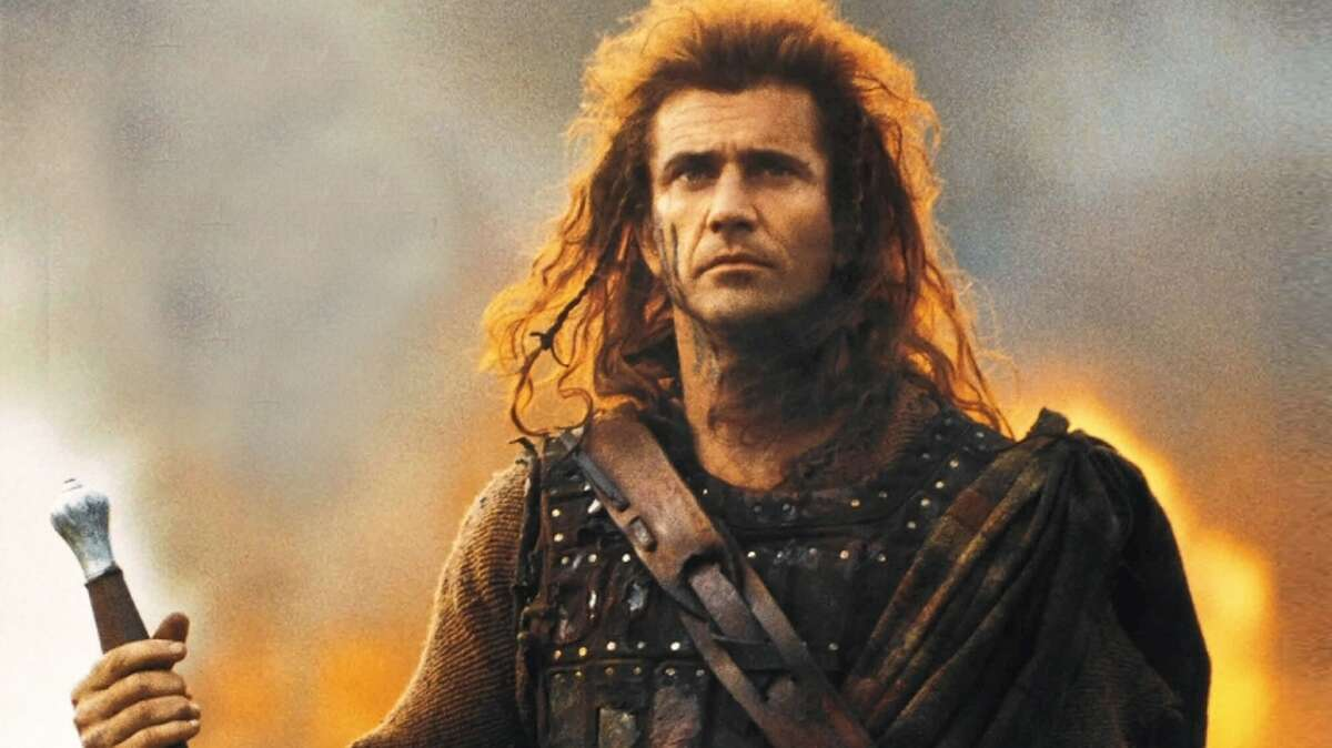 Wallace Although the movie depicts William Wallace as coming from a life of poverty, he was an aristocrat, the son of a knight and a knight himself.