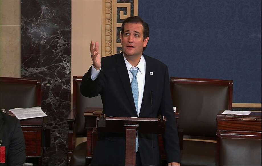 Although Ted Cruz has a history of giving impassioned speeches on the Senate floor, he also has a history of not participating in congressional votes. See which Texas senators and representatives have the worst attendance records on Capitol Hill. Photo: Associated Press