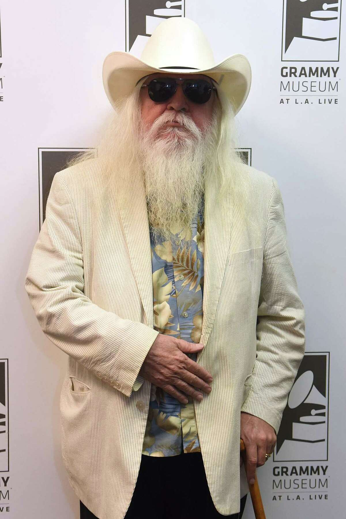 Musician Leon Russell, a member of the Rock and Roll Hall of Fame and Songwriters Hall of Fame, died Sunday, Nov. 13, 2016, near Nashville, Tenn. Click through to see more pictures from Russell's career.