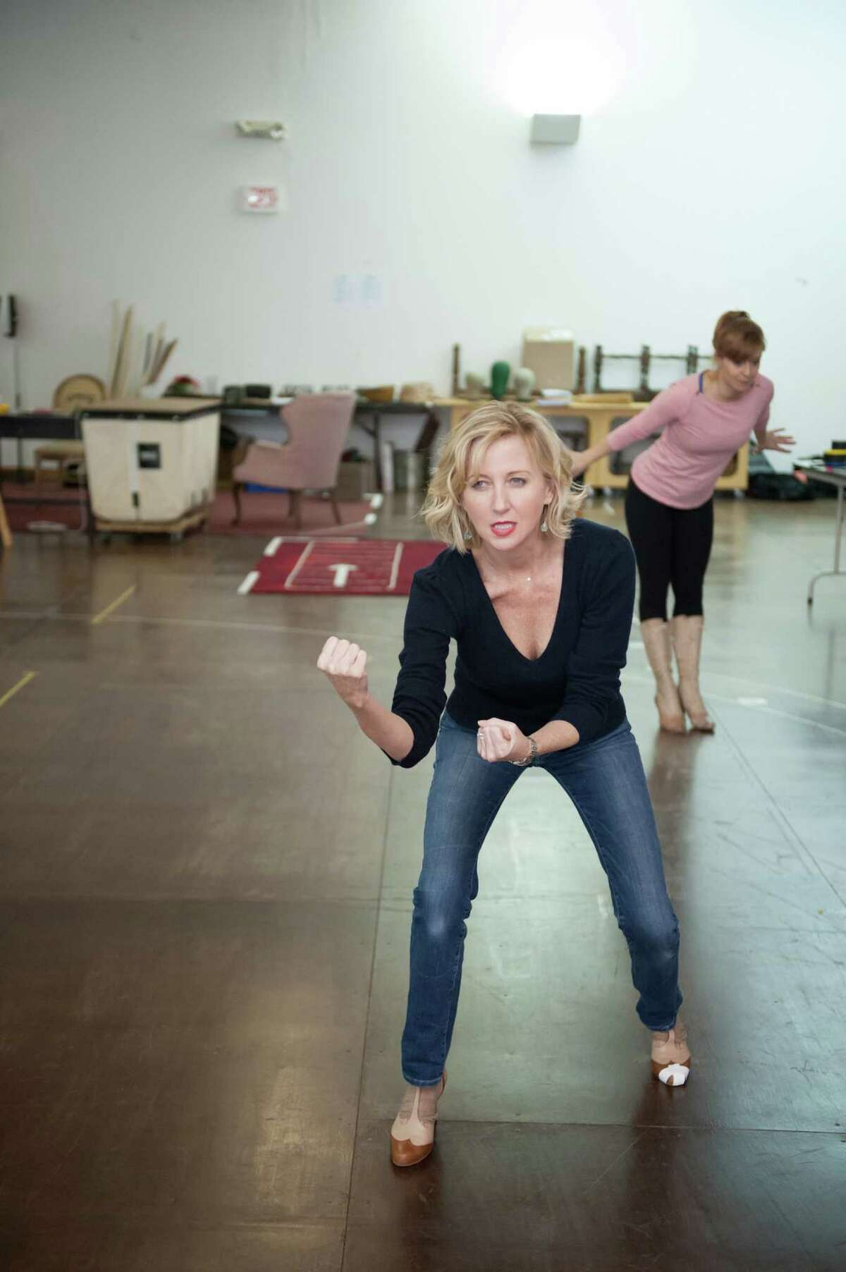 Hartford Stage is closing its 2014-2015 season with the classic backstage musical
