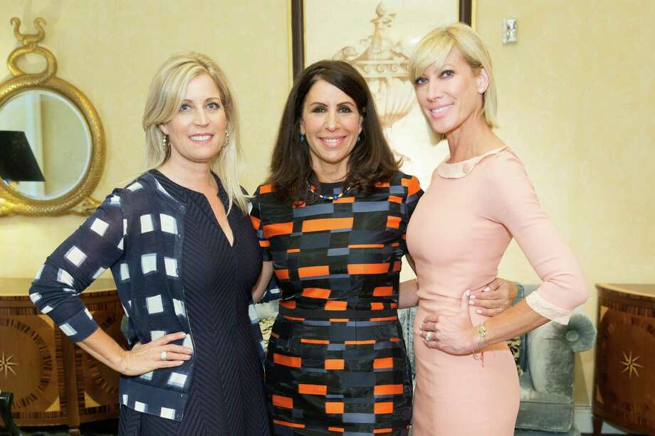 Jane Inch, Lisa Grotts and Janet Reilly at the Junior League of San Francisco's WATCH Luncheon on May 4, 2014. Photo: Drew Altizer Photography