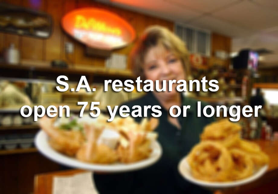 When a restaurant makes it past that critical first year of business, when the majority of new restaurants fail, you know it's doing something right. But when one can stay in business more than 75 years — as seven local restaurants have done — that's another story.  Photo: Express-News, File Photos