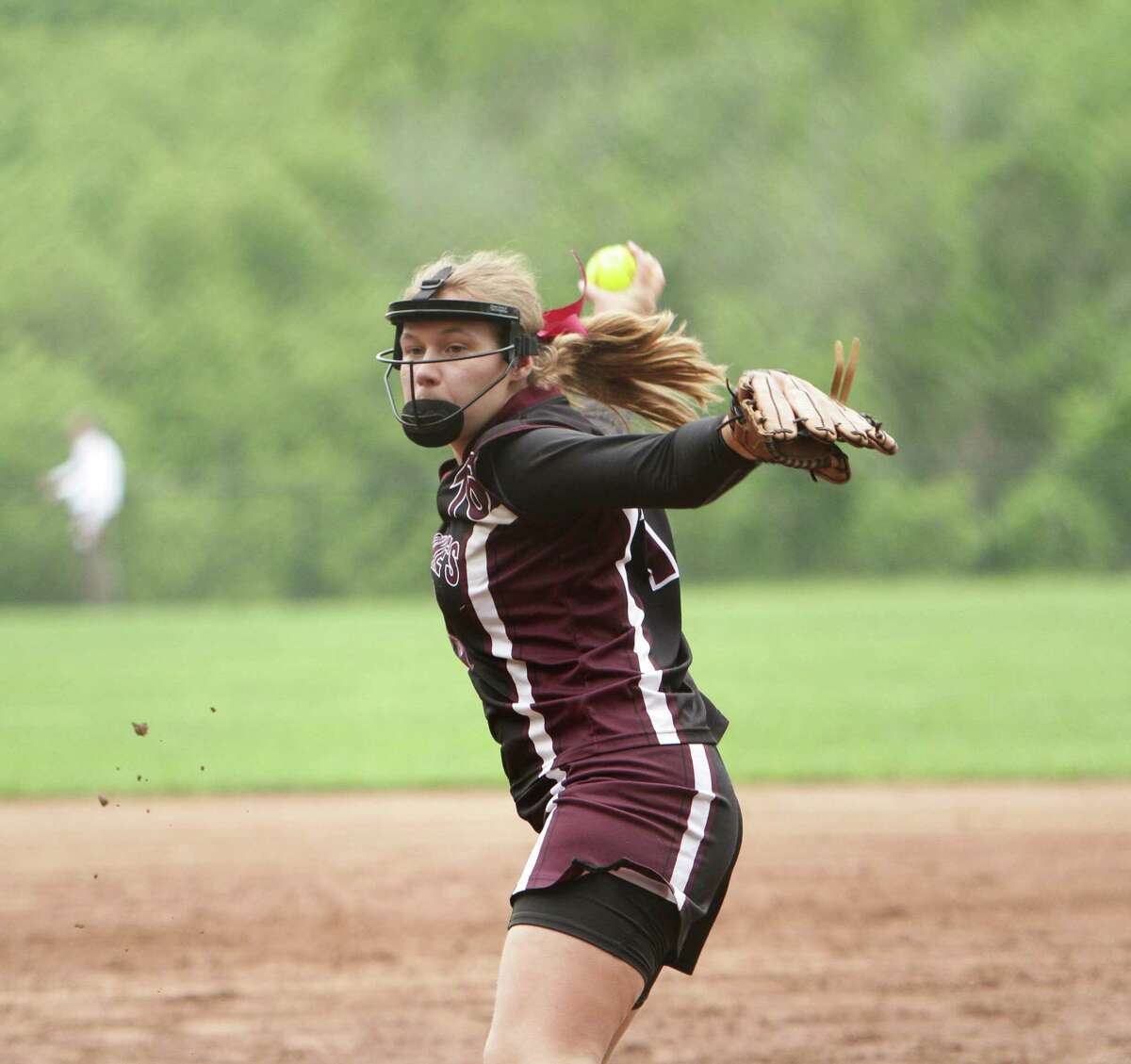 Marissa Ruschil (senior), struck out 11 without allowing a hit and collected three RBIs in St. Luke's 13-0 win.
