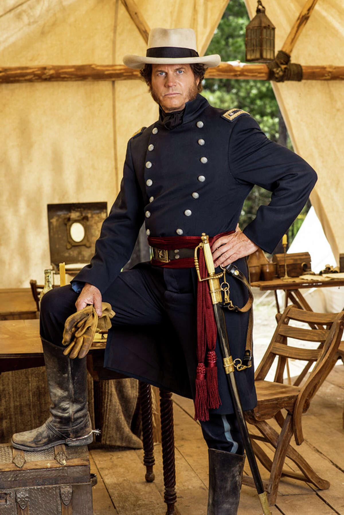 Bill Paxton as Sam Houston.
