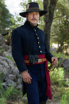 Juan Seguin played by Raul Mendez. Photo: Photo Courtesy History