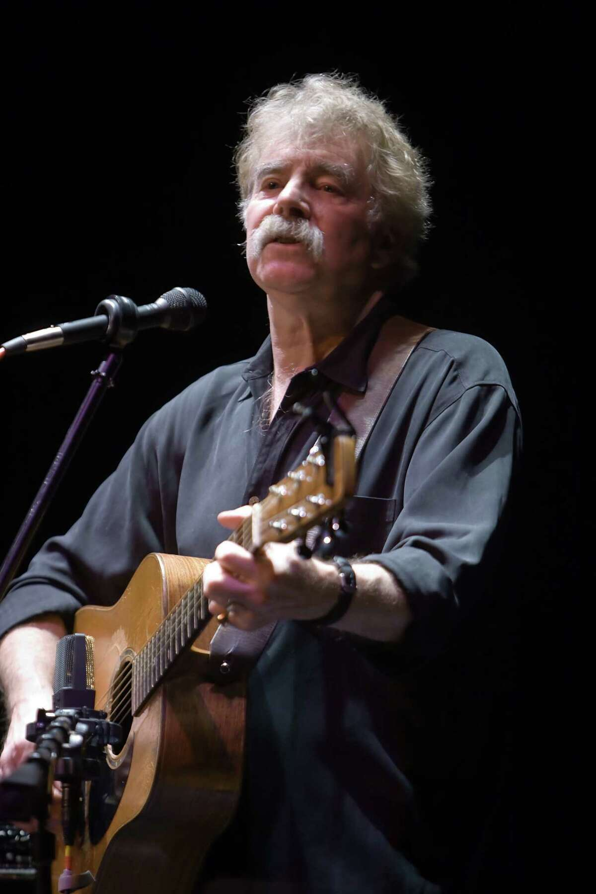 Folk music icon Tom Rush, seen here in 2013, plays the Colonial Theatre in Pittsfield, Mass., at 3 and 5:30 p.m. Saturday.