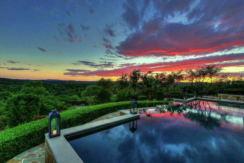 It offers majestic views of the Texas Hill Country.