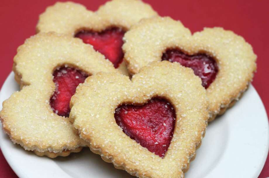 The 18 Houston-area locations of La Madeleine Country French Cafe are participating in the Dallas-based chainés éHearts for Hopeé campaign. For every purchase of a heart-shaped Linzer cookie (or any other cookie), La Madeleine will donate $1 to the Childrenés Hunger Fund. Customers who donate $5 to CHF will receive a card valued at $20 and good for six free treats. Find the nearest store at lamadeleine.com. Photo: Courtesy Photo