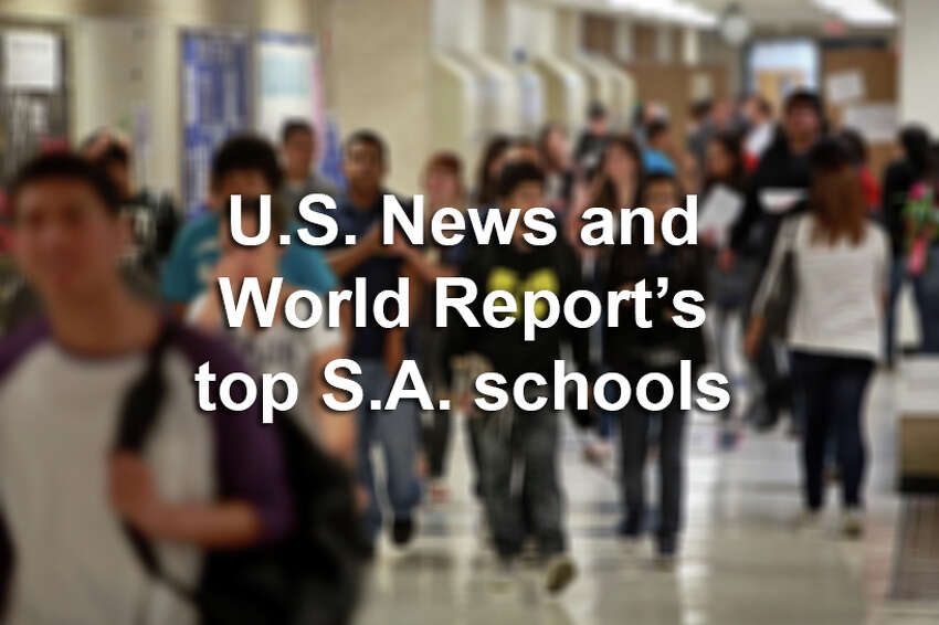 Scroll through the slideshow to see which San Antonio schools made U.S. News & World Report's 2015 rankings of top U.S. high schools.
