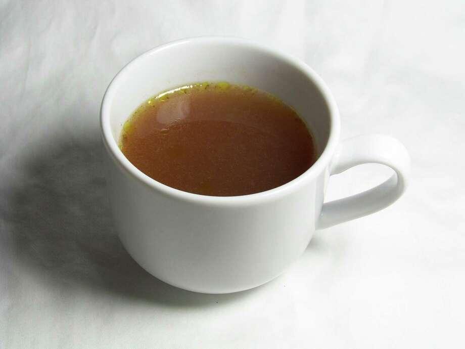 Bouillon from Scrivener's Tea Room Photo: Edmund Tijerina /San Antonio Express-News
