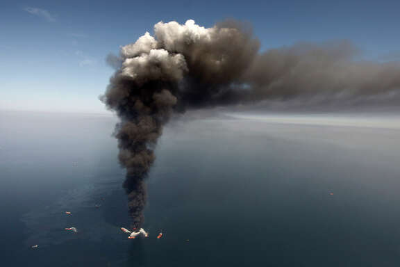 An explosion on a gulf oil rig killed 11 workers and caused 172 million gallons of oil to spill in 2010.