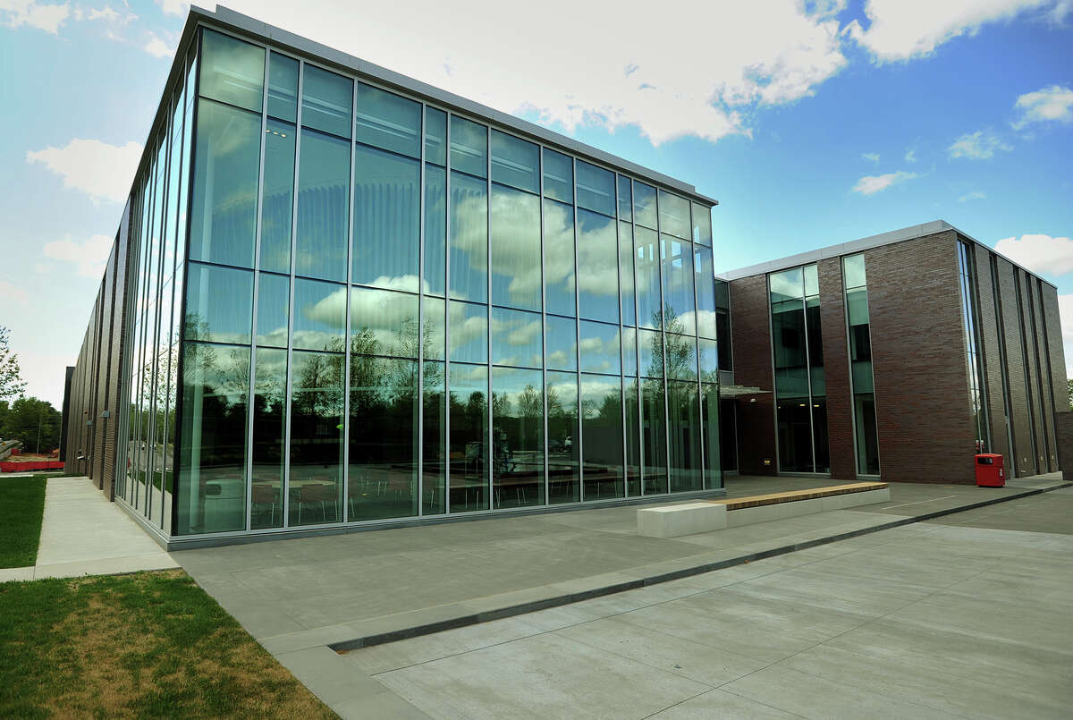The new Frank and Marisa Martire Business & Communications Center, home of the Jack Welch College of Business at Sacred Heart University in Fairfield, Conn. on Wednesday, May 13, 2015.