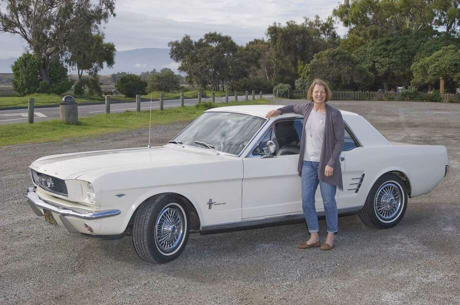 Sandra Pachaud was born and raised in Menlo Park, where she lives with her boyfriend, Dave Blackman. She has worked as a dental hygienist since 1980. She has two sons, ages 29 and 26. Her interests include swimming, gardening, travel and driving her 1966 Mustang. Photo: Stephen Finerty / Photograph By Stephen Finerty. / ONLINE_CHECK